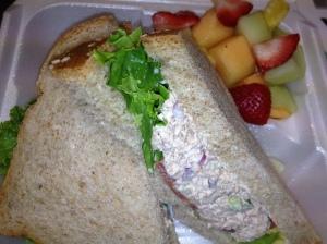 Glenlake Cafe tuna salad