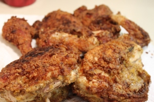 Kel's crunchy fried chicken