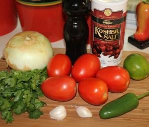 Kel's Pico de Gallo ingredients