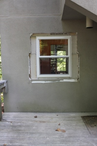 New, taller window