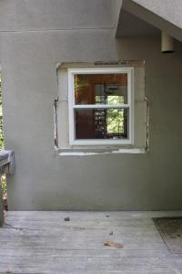 New, taller window
