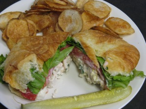 Poppy Seed chicken salad sandwich