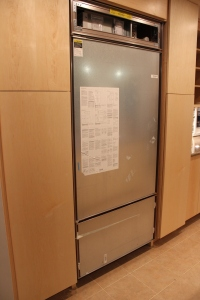 Fridge is in!