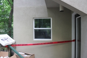 Great stucco job!