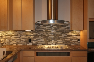 New backsplash!