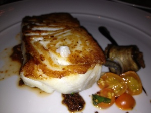 Pan Roasted Halibut at RN 74