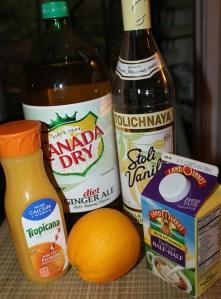 Push-Up cocktail ingredients