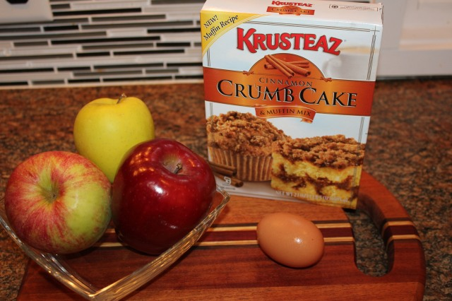Krusteaz Crumb Cake ingredients