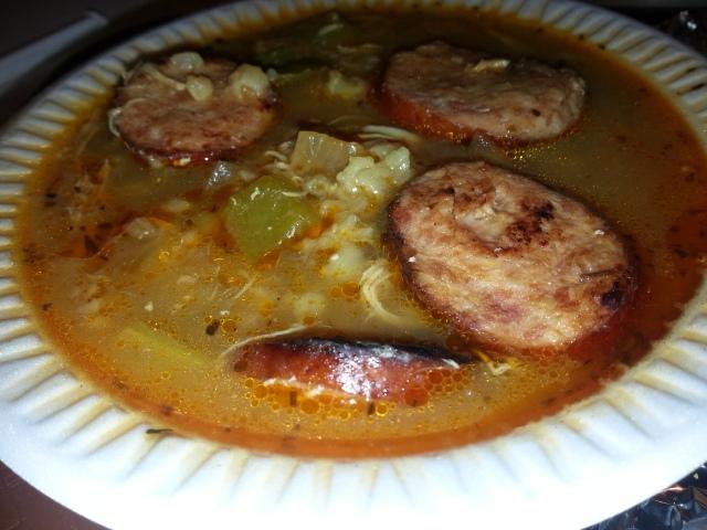 Boondini's Cajun chicken soup