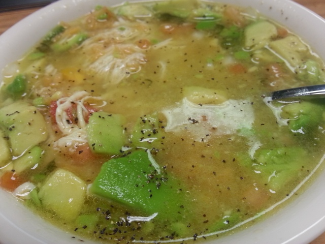 El Rodeo's Chicken Soup