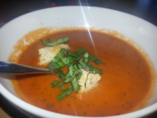 tomato bisque at Twisted Fork