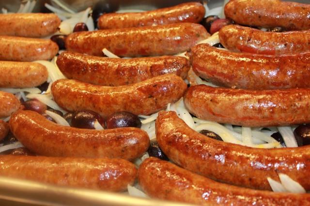 Sheri's Italina sausages