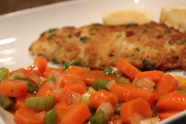 Carrots with Tilapia