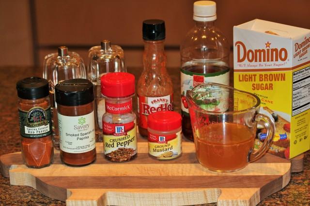 Kel's Barbecue sauce ingredients