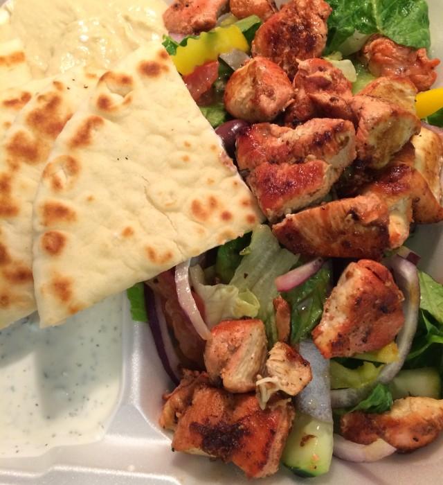 Chicken Gryo Platter Tarbouch