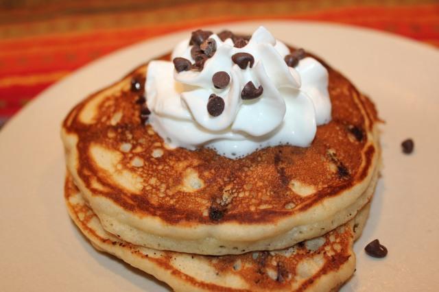 Chocolate Chip Cookie Pancakes