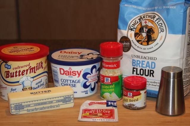 Kel's Cafe dill bread ingredients