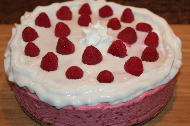 Kel's Cafe Frozen Raspberry Torte