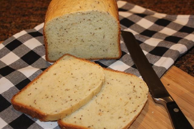 Kel's dill bread sliced