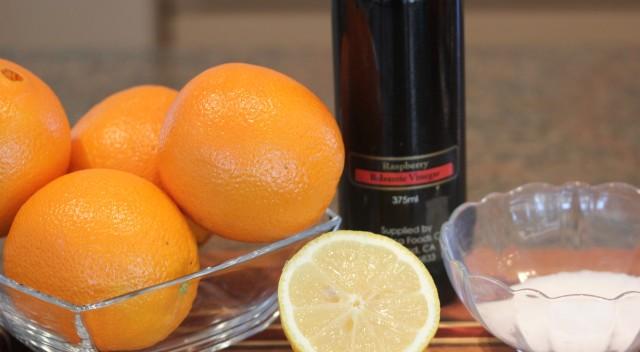 Kel's macerated oranges ingredients 2