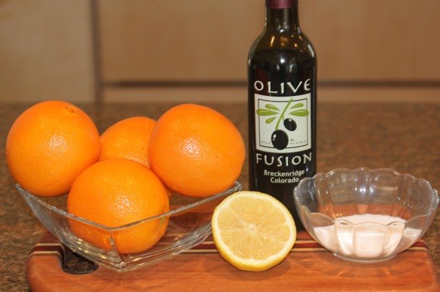 Kel's macerated oranges recipe
