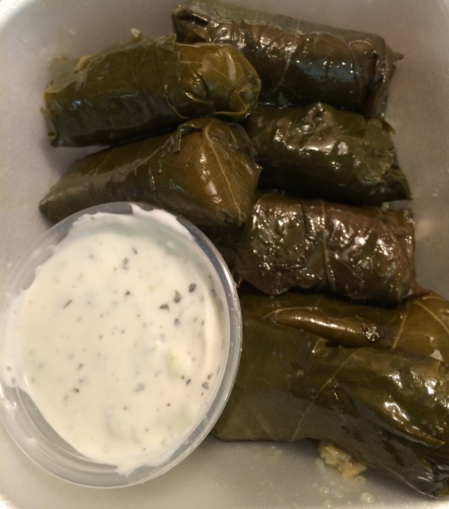 Tarbouch grape leaves