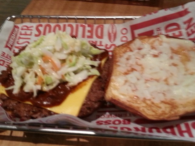 Carolina Smash burger