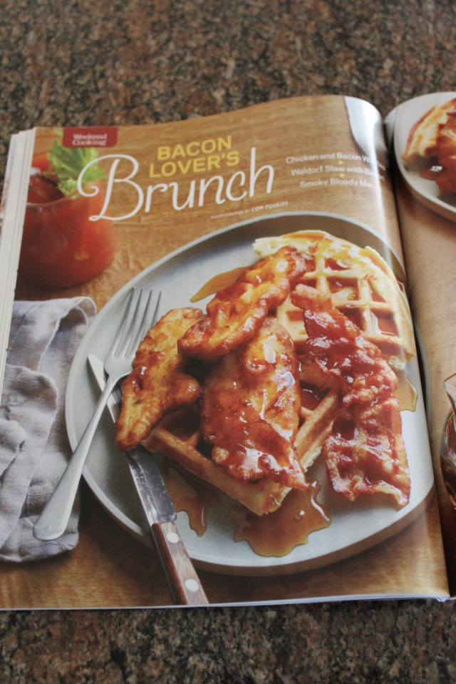 Inside Bacon Issue of Food Network Magazine