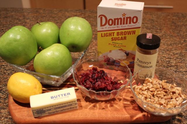 Kel's baked apples ingredients