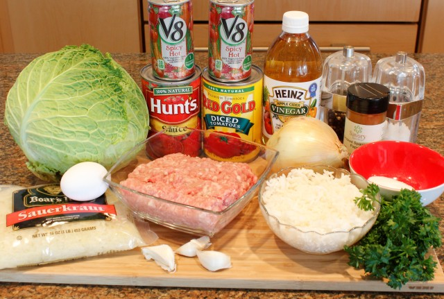 Kel's Cafe stuffed cabbage rolls ingredients