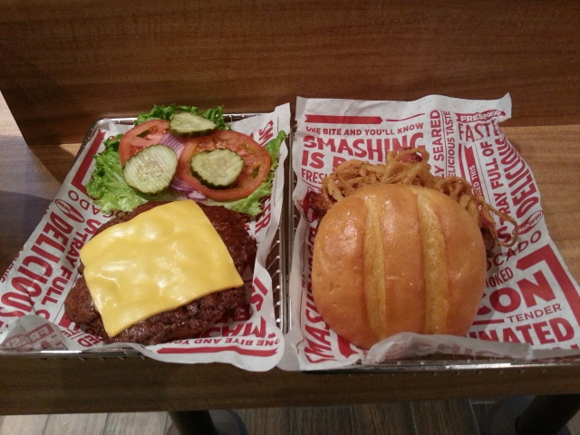Smashburger burgers