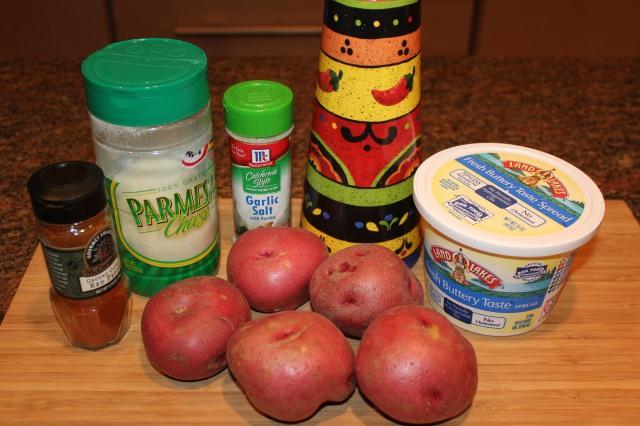 Kel's roasted red potatoes ingredients