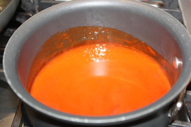 Heat buffalo sauce