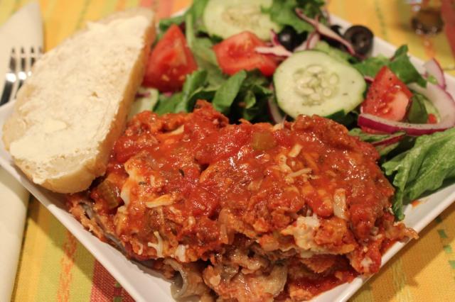 Kel's Best Eggplant Parmesan