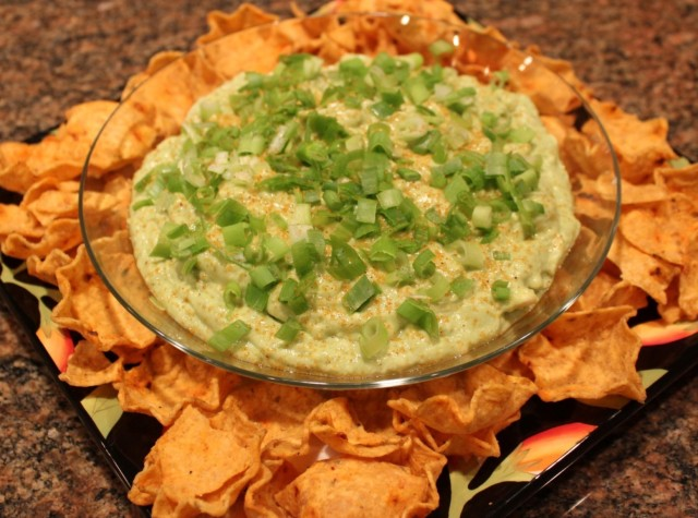 Kel's bleu cheese avocado yogurt dip