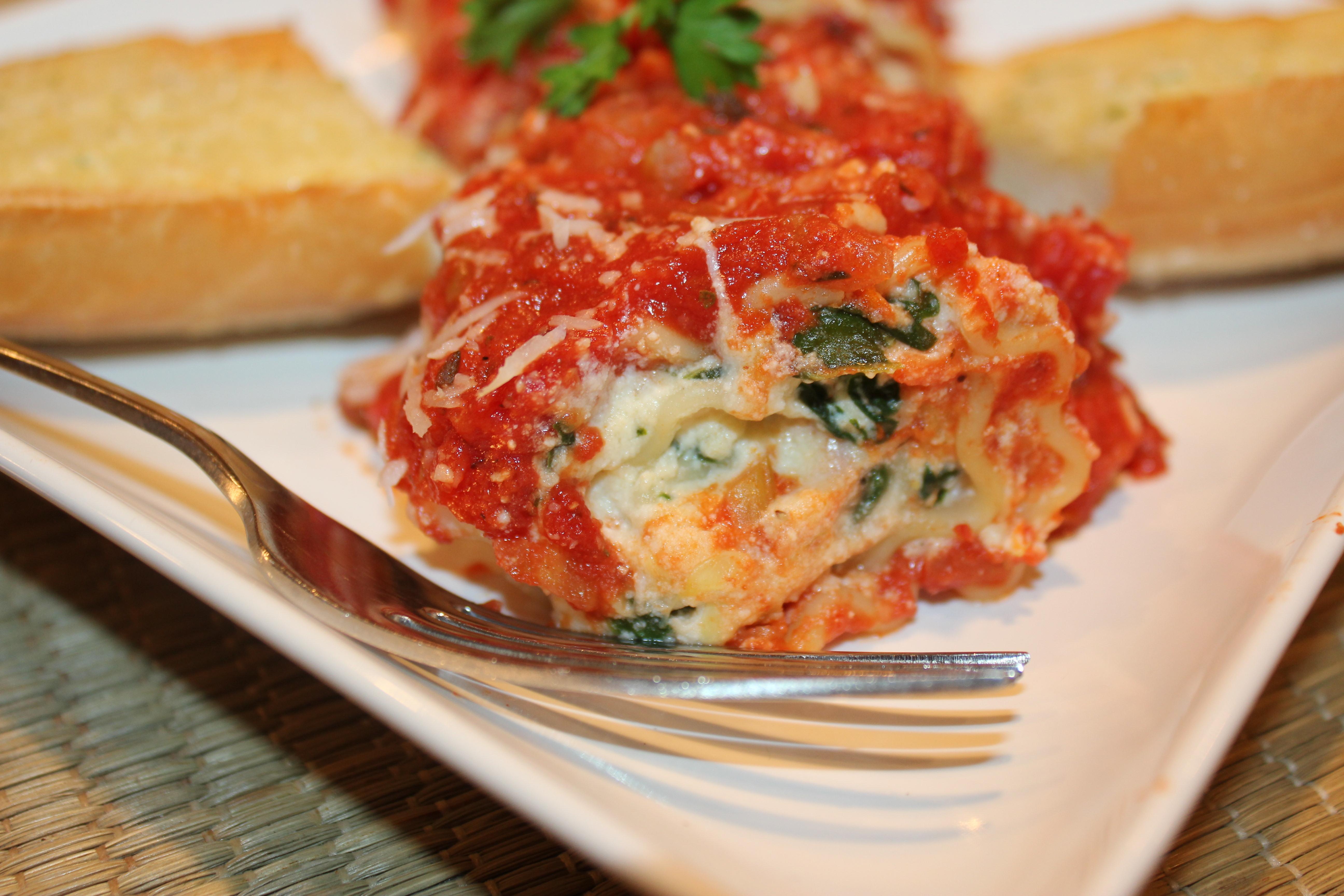 Vegetarian Four Cheese Lasagna Recipes — Dishmaps