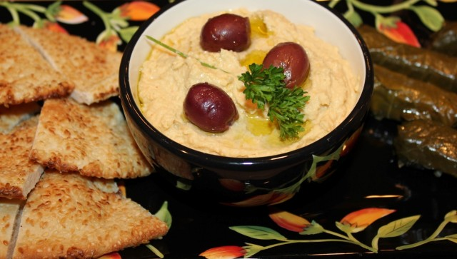 Kel's Hummus party platter