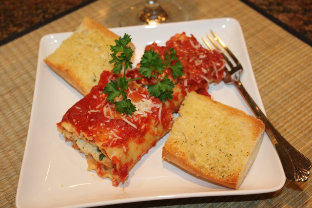 Let's eat lasagna roll-ups!