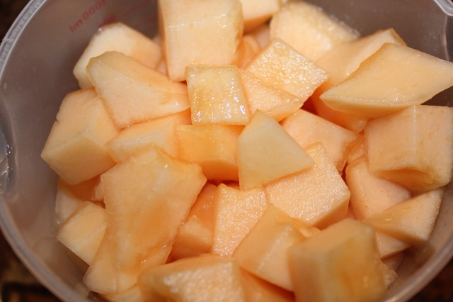 Chopped Cantaloupe
