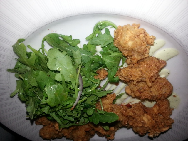 Fried Oysters at High Cotton