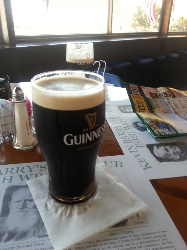 Guinness at Kevin Barry's Irish Pub, Savannah