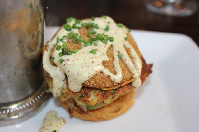 Olde Pink House crabcake