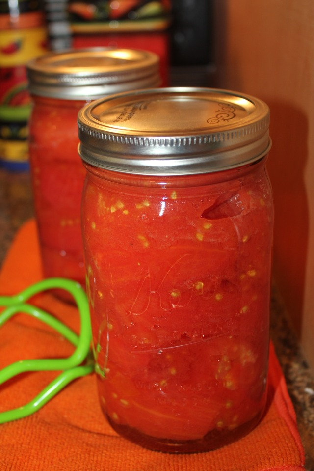 Canned Romas