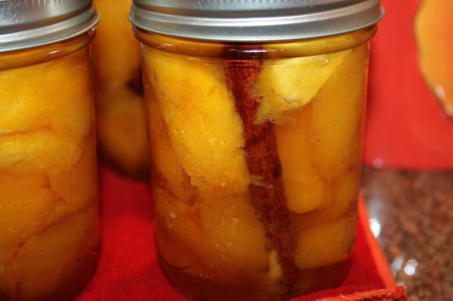 Kel's Pickled peaches