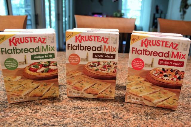 Krusteaz flatbread mixes