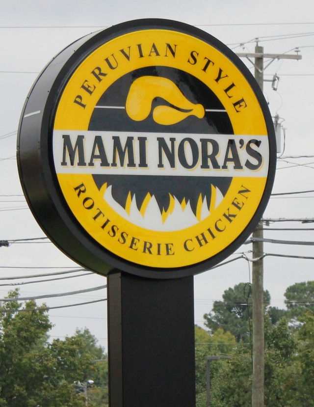 Mami Nora's sign
