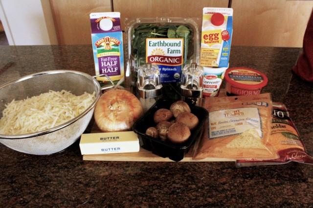 spinach ricotta pie ingredients