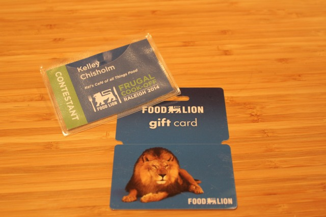 $100 Food Lion gift card give away