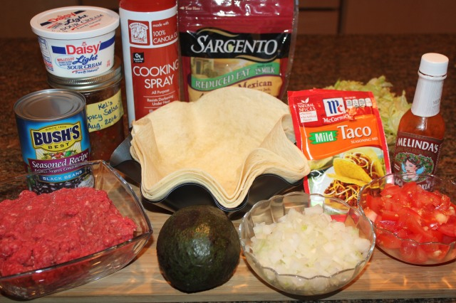 Kel's Cafe taco salad ingredients