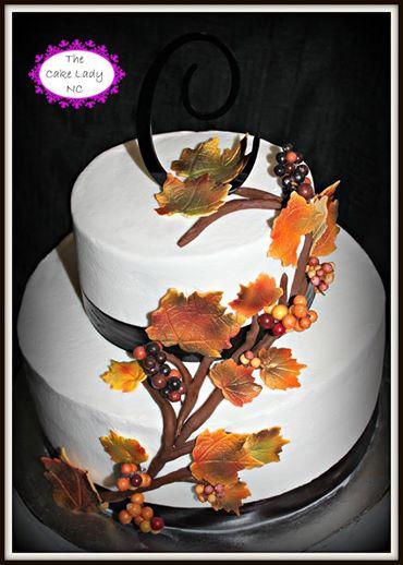 Autumn cake